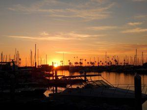 Sunset at Oceanside Harbor