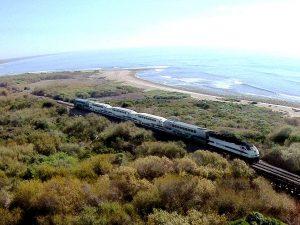 Trestles Train Through Trestles Natural Wetlands