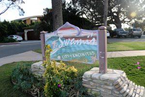 Swami's Seaside Park Entrance Sign