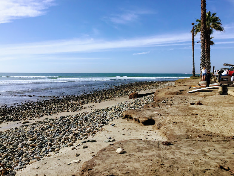 San Onofre Surfing Beach