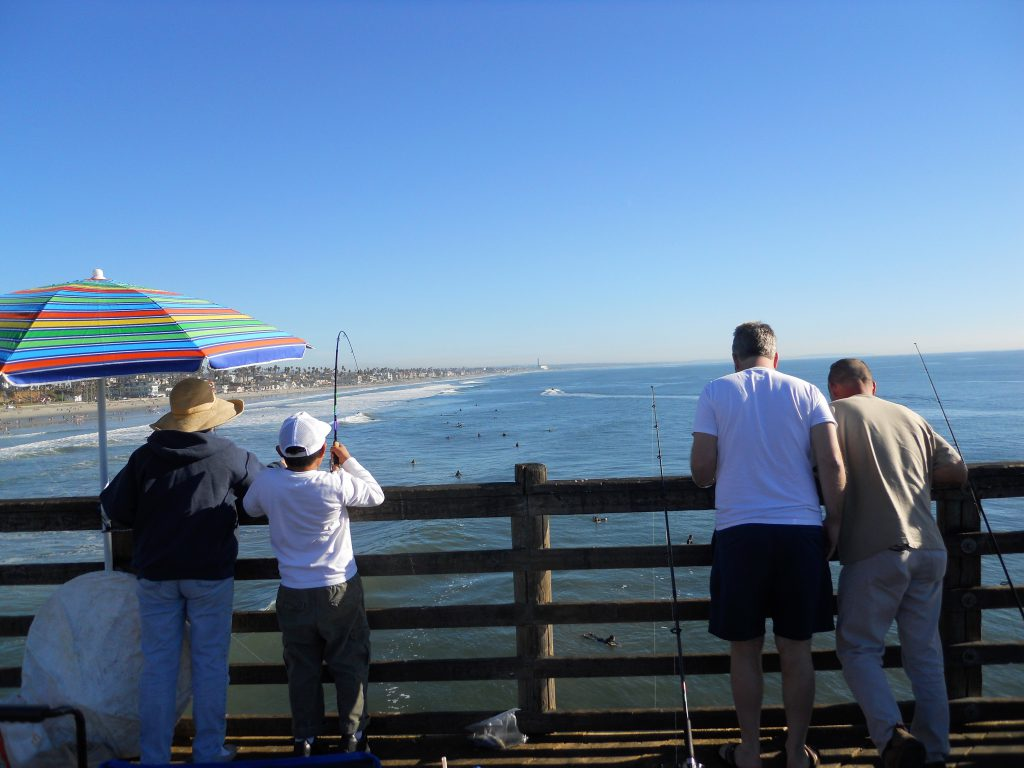 oceanside pier-fishing
