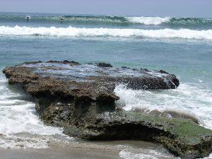 Surfing Swami's State Beach