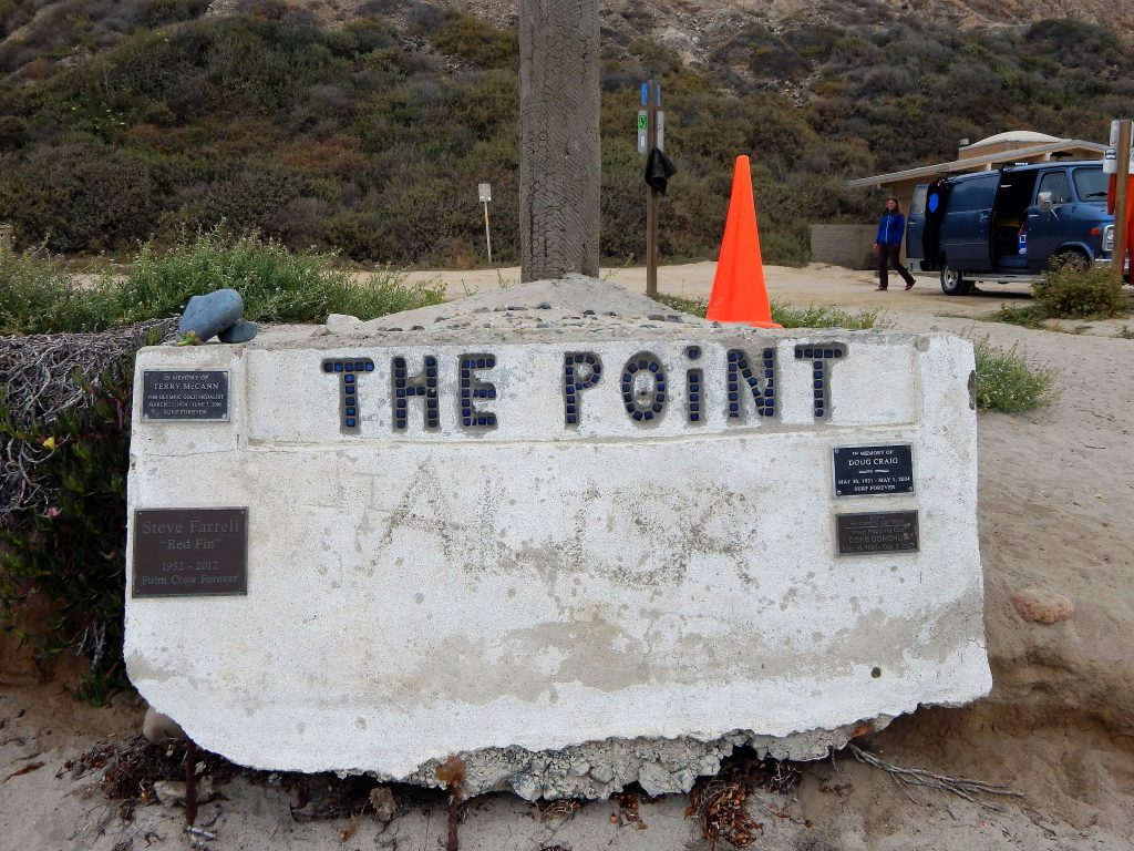 The Point Flagpole San Onofre State Beach