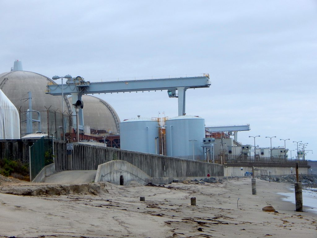 San Onofre Nuclear Generating Station San Onofre State Beach