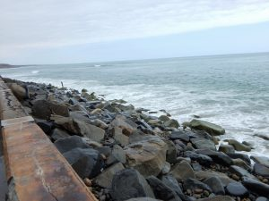 South San Onofre State Beach walkway