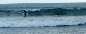 Surfing San Onofre State Beach