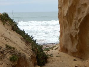 View inside San Onofre Bluffs