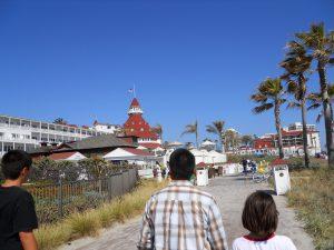 Hotel del Coronado Walkway