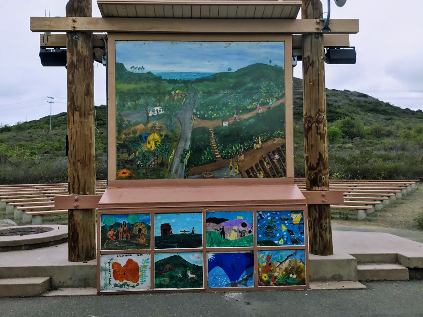 San Mateo Campground amphitheater san onofre