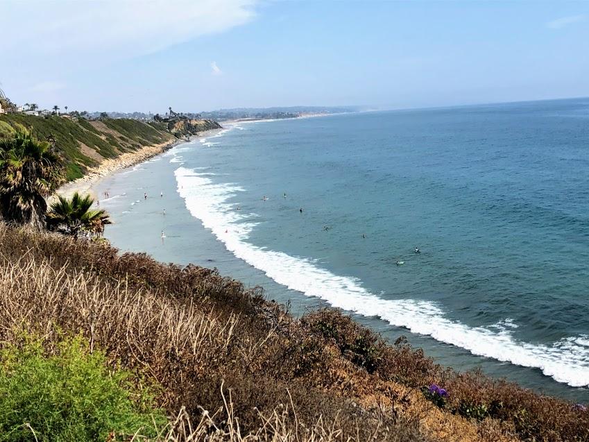 surf break swamis summer encinitas