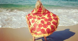 Pizza Towels The Most Unique Beach Towel Out There