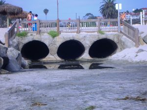 Cottonwood Creek Runoff Beaches of Encinitas