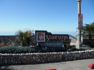 Stonesteps Beach Entrance Sign