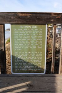 San Elijo Coastal Bluff Information Sign