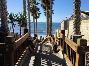 Grandview Beach Stairway Beaches of Encinitas