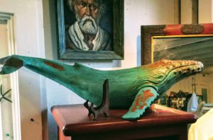 Cave Store Art Whale La Jolla