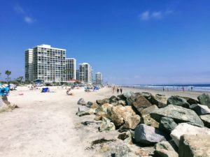 Coronado Shores Beach Beaches of San Diego County