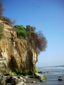 Boneyard Beach Cliffs Beaches of Encinitas