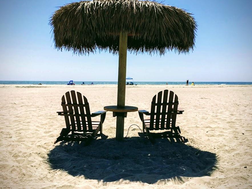 Del Mar Beach Camp Pendleton Beach chairs umbrella