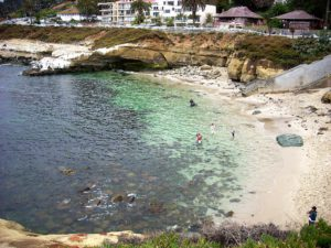 La Jolla Cove beach beaches of San Diego County