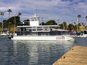 Oceanside Adventures boat