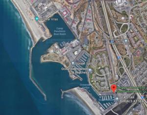 Oceanside Harbor google map