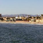 Pier view north beach Oceanside pier