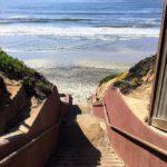 Terramar Beach Stairs Beaches of San Diego County