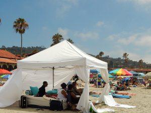 Beach Tent La Jolla Shores Beach