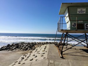 Oceanside Blvd Beach Lifeguard Tower