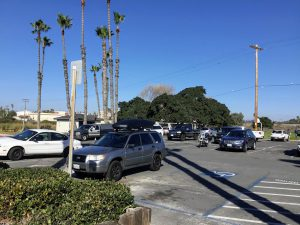 Buccaneer Beach Parking Lot