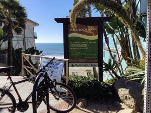 Carlsbad City Beach Entrance