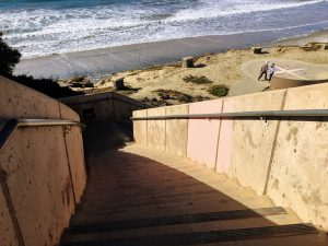 South Ponto Beach Stairs North County San Diego