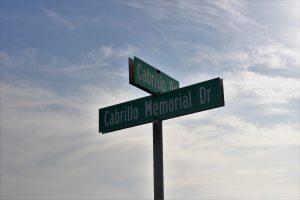 corner of Cabrillo Drive Cabrillo Memorial Drive