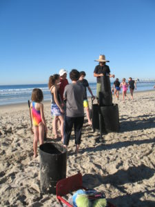 Building Sand Castles la jolla shores beach