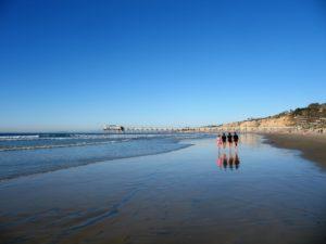 Four girls on the beach la jolla shores beach