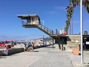 Main Lifeguard station La Jolla Shores Beach