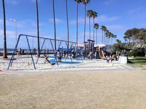 Kellogg Park Swing set La Jolla Shores Beach