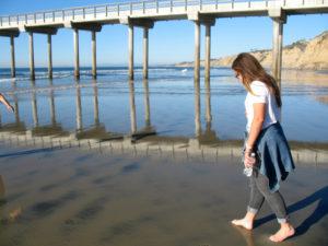 Scripps Pier La Jolla Shores Beach
