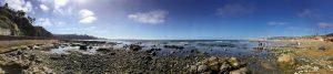 South La Jolla Shores Beach Panoramic