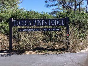 Torrey Pine Lodge Sign