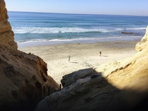 Flat Rock Beach Torrey Pines State Natural Reserve
