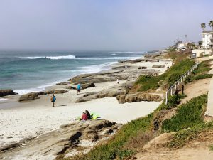 La Jolla Strand Beach beaches of San Diego County