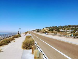 Torrey Pines State Beach Highway street parking