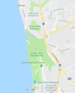 Torrey Pines State Beach Map