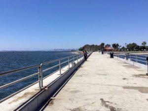 Bayside Park Pier San Diego Fishing Piers