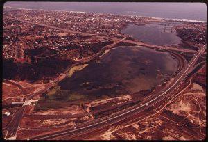 Buena Vista Lagoon Aerial Shot