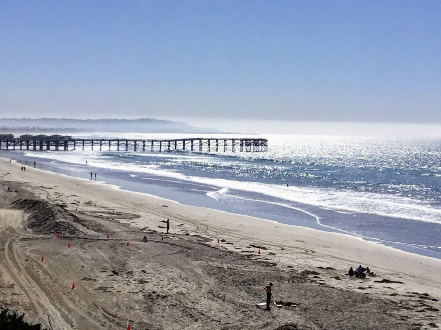 List of san diego fishing piers san diego beach secrets for Crystal pier fishing