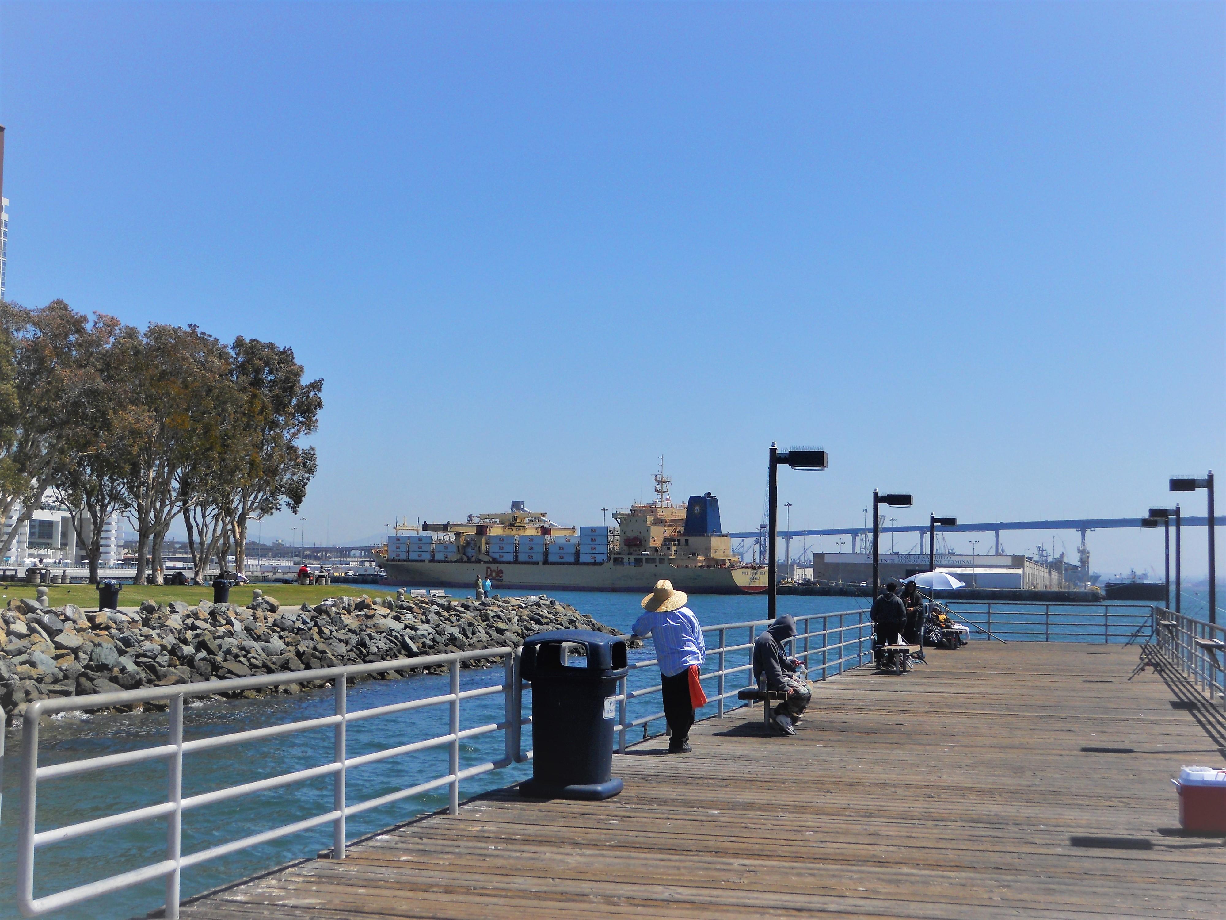 List Of San Diego Fishing Piers San Diego Beach Secrets