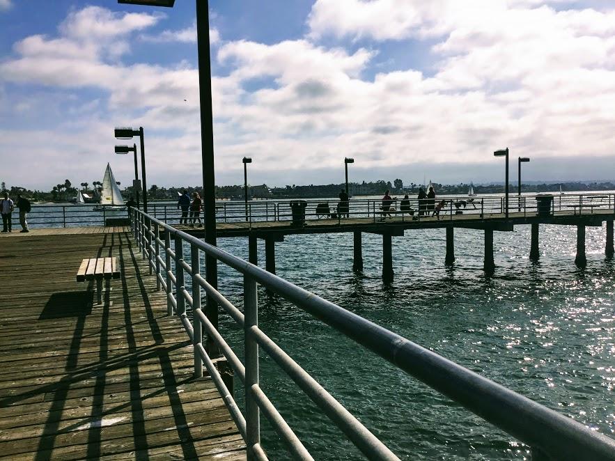 Embarcadero Pier San Diego Fishing Piers